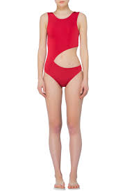 a m nur karaata swimwear i am the happy hour swimsuit red 365ist