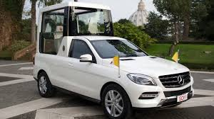 mercedes benz ceo surprise pope benedict u0027s new popemobile is a mercedes benz again
