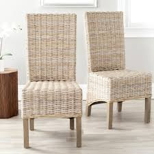 dining room winning wicker dining chairs rattan dining chair