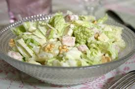 cuisiner chou chinois recette salade de pe tsaï au comté et jambon cuisinez salade de pe