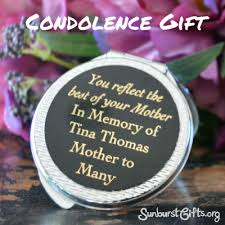 condolence gifts what do you get your best friend when dies