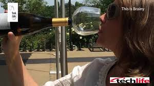 wine mom turn your wine bottle into your wine glass realistic