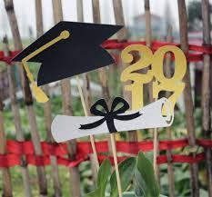 graduation cap centerpieces class of 2018 graduation table centerpiece party decorations gold or