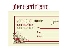 10 best images of free printable christmas gift certificate