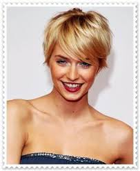 Frisuren Kurz Blond Bilder by Pixie Cut Kurze Haare Blondinen Und