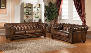 King Hickory Sofa by Amax Hickory 2 Piece Leather Living Room Set U0026 Reviews Wayfair