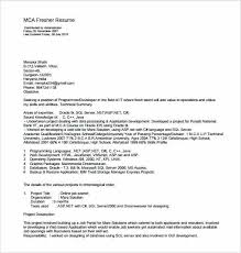 download best resume format for mca freshers resume for freshers resume freshers format template for fresher