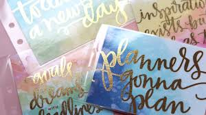 diy foil cards for planners free download youtube