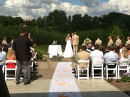 perfect panoramic views for an outdoor ceremony at the eagan