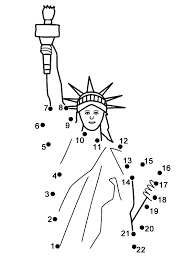 statue of liberty printable coloring page for kids classroom