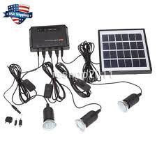 Outdoor Solar Panel Lights - solar panel light kit ebay