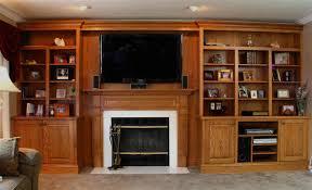Interior Gas Fireplace Entertainment Center - wall units marvellous oak wall units fascinating oak wall units