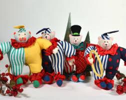 circus ornaments etsy
