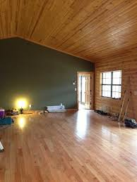 Interior Paint Color For Log Cabin Style Greatroom - Interior paint colors for log homes