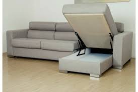 canapé convertible tissu gris meubles design canape moderne fonctionnel canape d angle