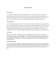 Example Of Personal Resume by Personal Assistant Personal Statement The Physician Assistant