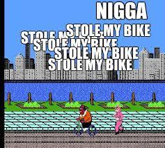 Nigga Stole My Bike Meme - nas stoly my bike at the station misc quickmeme