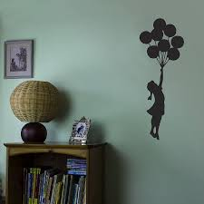 banksy balloon vinyl wall decal by vinyl revolution