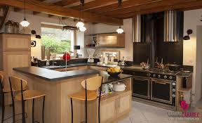 cuisine avec piano cuisine moderne et tradition avec piano de cuisson bretagne côtes