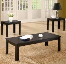 Livingroom End Tables Coaster Occasional Table Sets 3 Piece Contemporary Round Coffee