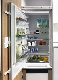 electronic cabinet drawer opening system rethinks refrigerator