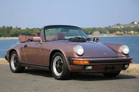 80s porsche 1987 porsche 911 carrera cabriolet silver arrow cars ltd