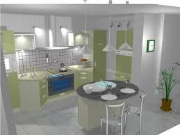 ilot cuisine rond ambiance cuisine meubles contarin
