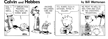 calvin and hobbes comic november 01 1986 on gocomics