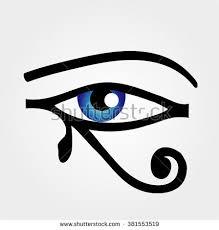 eye horus stock vector 381553519