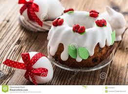 easter sweet easter sweet ring cake stock image image of glaze kulich 50163823