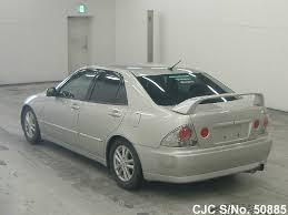 toyota lexus altezza for sale 2002 toyota altezza silver for sale stock no 50885 japanese