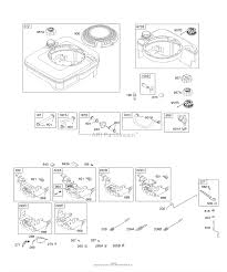briggs and stratton 12h802 1769 b1 parts diagram for controls