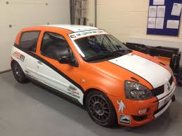 renault clio rally car renualt clio 172 182 rally and race car msa log booked