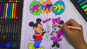 Minnie Mouse Easter Book Mickey And Minnie Mouse Easter Eggs Coloring Page