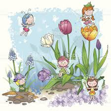 fairy tale spring pixie elf stock vector art 158685149 istock