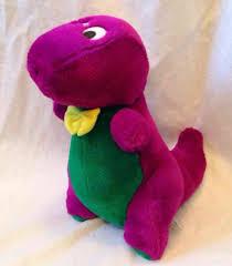Barney And The Backyard Gang Doll Barney Doll 1990