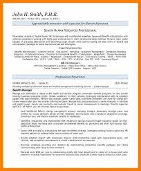 Summary Statement In Resume 10 Resume Summary Statement Prefix Chart