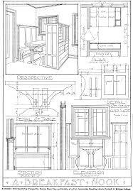window to the past breakfast nook plans u2014 twin cities bungalow club