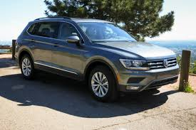 volkswagen tiguan 2018 volkswagen tiguan review first drive news cars com