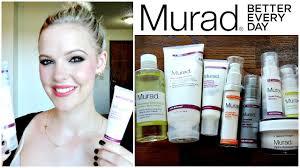 Murad Resurgence Skin Care Murad Skincare Haul And Routine Youtube