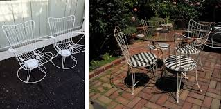 Right Chairs And Table Thrifting Thursday Heavy Metal Edition A Spoonful Of Pretty