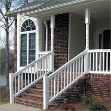vinyl railing systems stair railings building products arndt