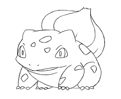 bulbasaur coloring pages bulbasaur pokemon coloring page free