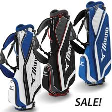 sale mizuno aerolite micro golf stand carry bag now on