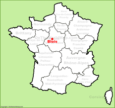 France Maps by Blois Maps France Maps Of Blois
