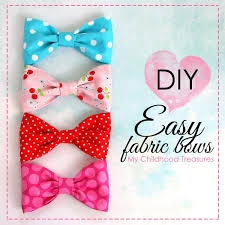 fabric bows how to make fabric bows diy fabric bows fabric bows fabrics