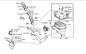 lexus rx 350 air filter stock air intake diagram clublexus lexus forum discussion