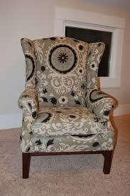Queen Anne Armchair How To Reupholster A Wingback Chair Diy Project Aholic