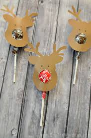 reindeer suckers free printable kids gift our thrifty ideas
