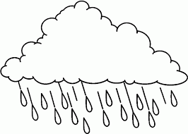 9 pics of rain coloring pages rain cloud coloring pages